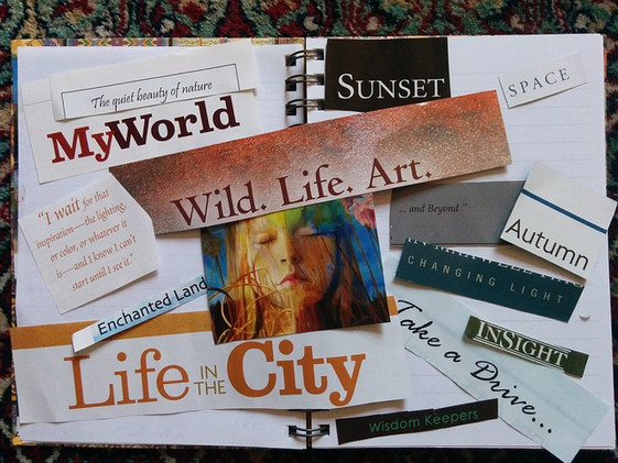 Vision Board - Your Purpose - Your Vision