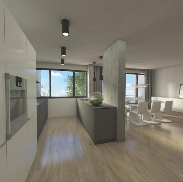 Wohnungsanierung: BMG17_Visualisierung Wohnraum