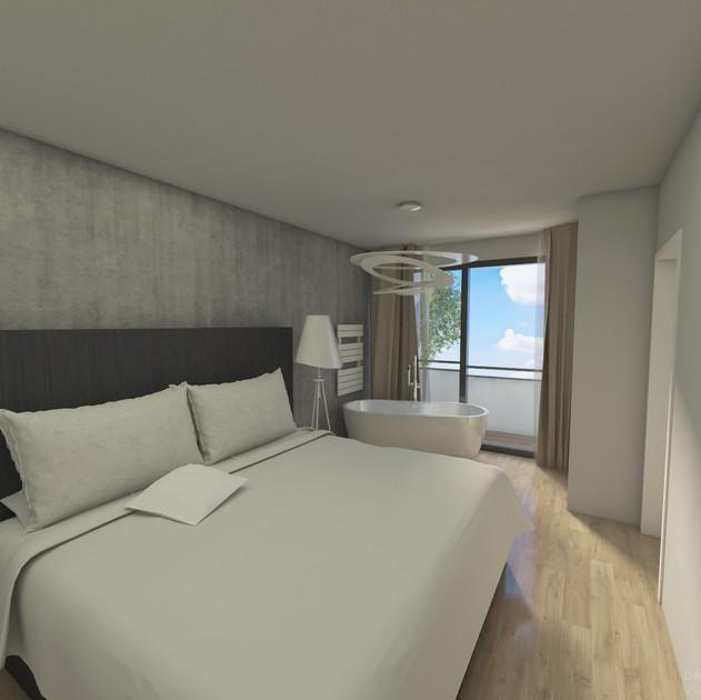 Wohnungsanierung: BMG17_Visualisierung Schlafzimmer