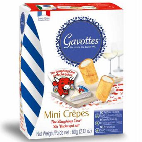Gavottes Mini Crêpes Filled with The Laughing Cow