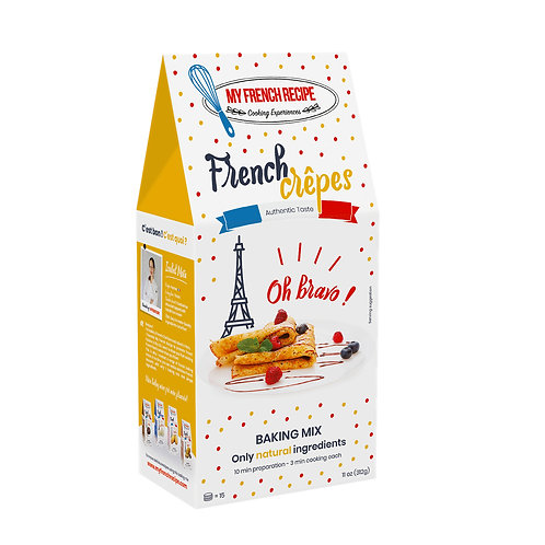 Baking Mix - French Crepes