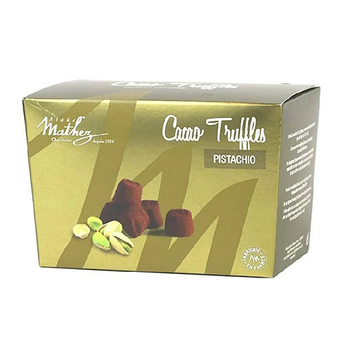 French Chocolate Truffles with Pistachio