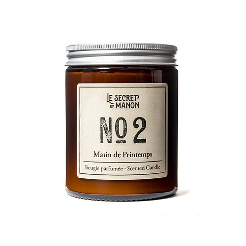 Candle N02 Matin de Printemps - Fresh Linen