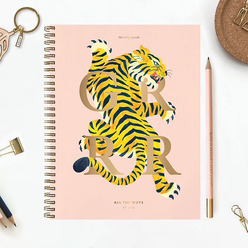 Tiger - Monthly Planner