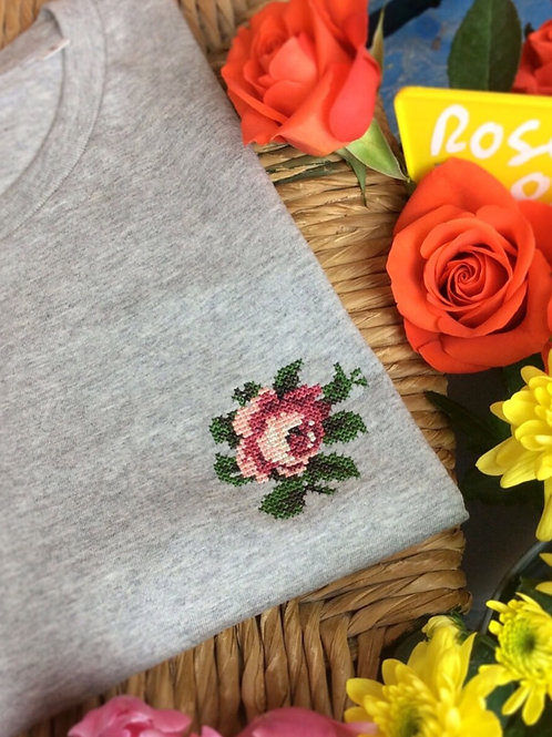 Johnny Romance Grey T-shirt