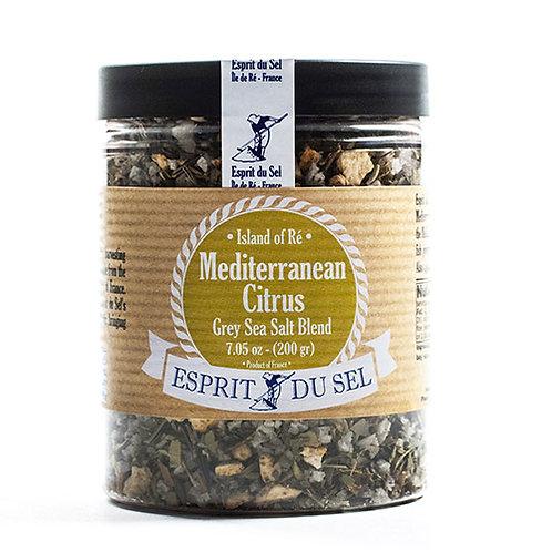 Grey Sea Salt with Mediterranean Citrus Blend