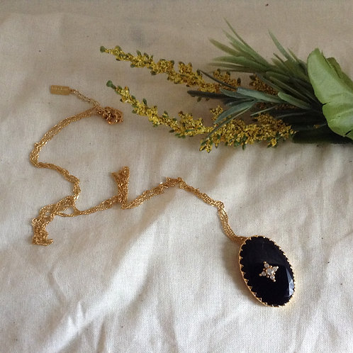 Biba Black - Long Necklace