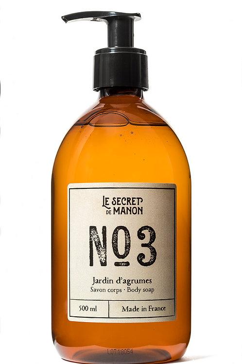 N03 Body Wash, Grapefruit 500 ml