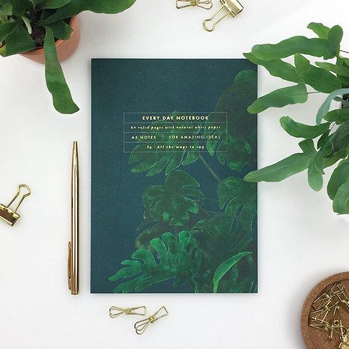 Monstera A5 Notebook