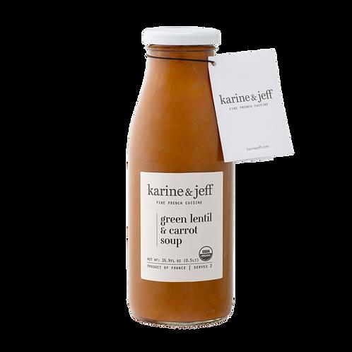 Green Lentil & Carrot Soup