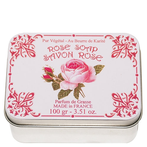 Savon Le Blanc Rose Soap