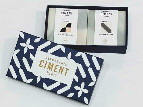 Ciment Tile Soap Box of 2