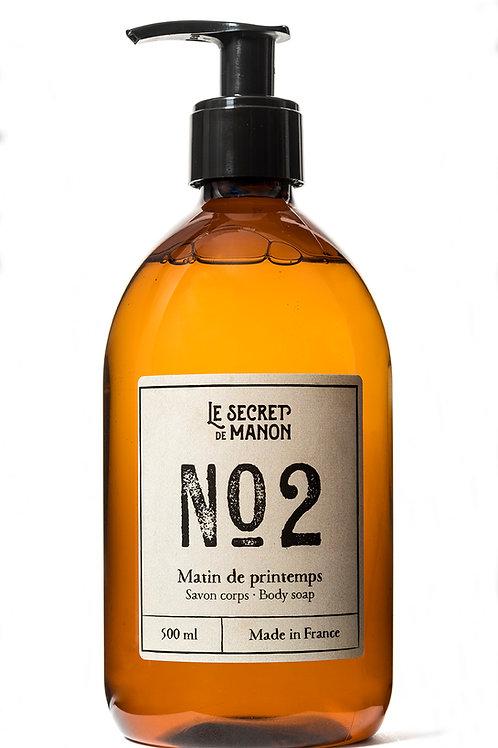 N02 Body Wash, Linen 500ml