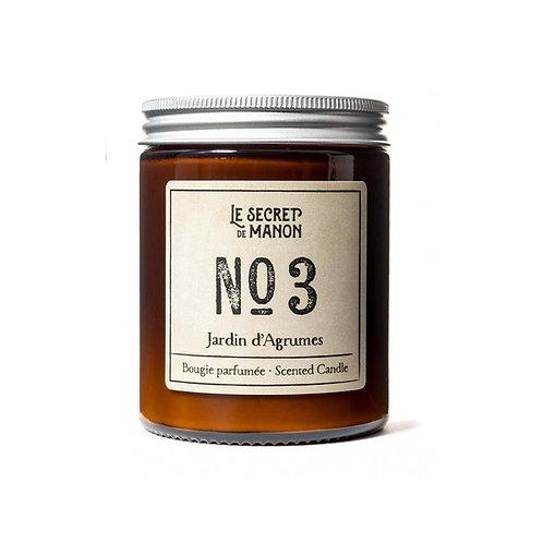 Candle N03 Jardin d'Agrumes - GRAPEFRUIT / CITRUS
