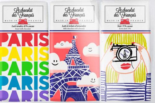 Chocolate Francais 3 Mini Bars