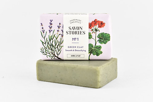 Green Clay Bar Soap - Smooth and Detoxifying