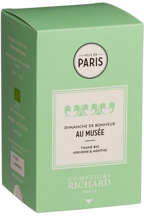 DIMANCHE DE BONHEUR AU MUSÉE - VERBENA MINT