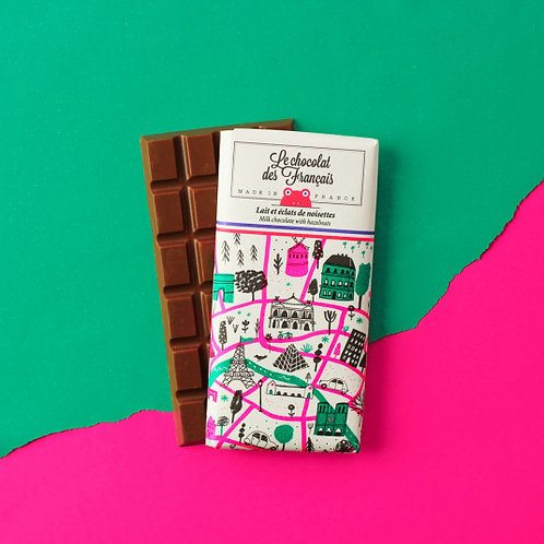 Milk & Hazelnuts - Organic Chocolate