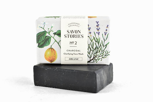 Bamboo Charcoal Bar Soap - Clarifying face wash