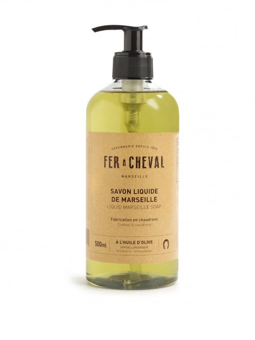 Fer A Cheval Olive Oil Liquid Soap