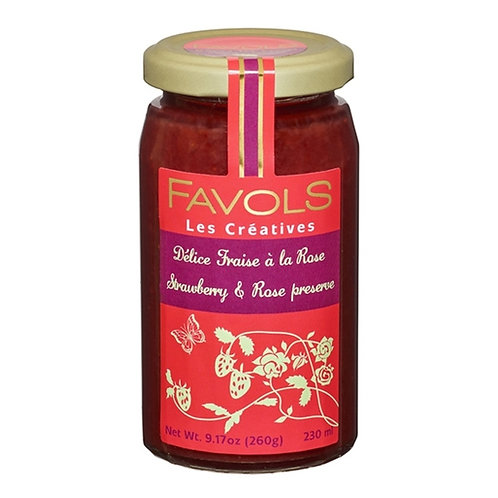 Strawberry & Rose Petal Jam