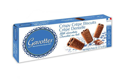 "Gavottes Crispy ""Brittany Crepes"" Milk Chocolate"