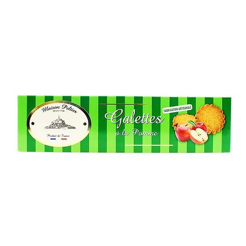 Pure Butter Short Biscuits with Apple