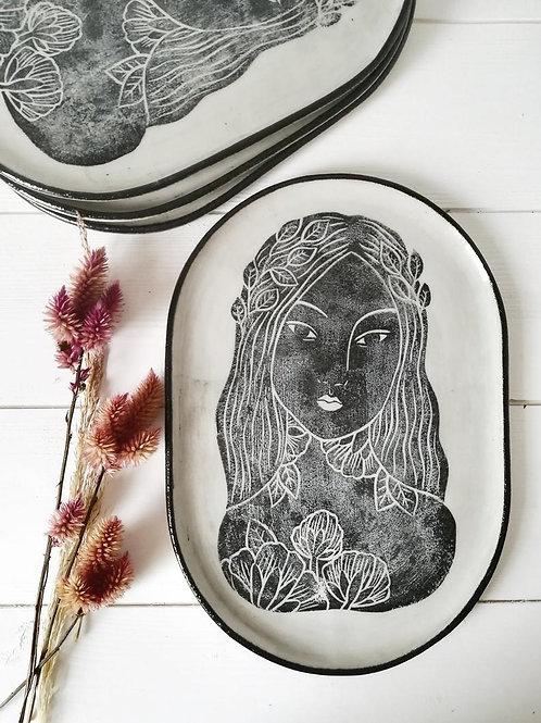 Plate - Woman