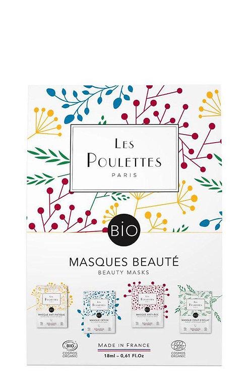 Les Poulettes Beauty Mask Pack (4)