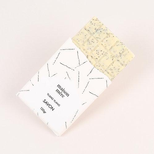 """Ylang Ylang """"chocolate  bar"""" soap"""