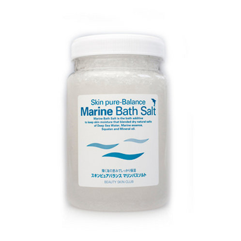 お風呂で全身の保湿力UPバスソルト✨『マリンバスソルト』