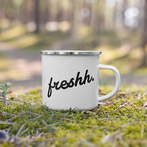 Freshh. Enamel Mug