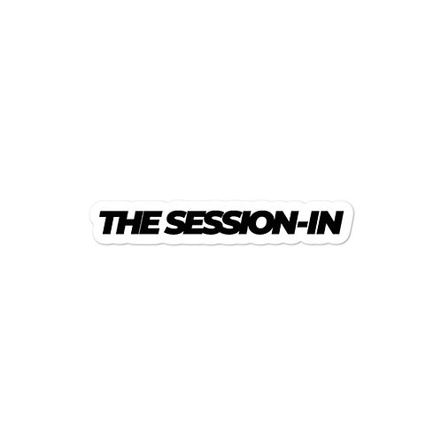 The Session-In Sticker