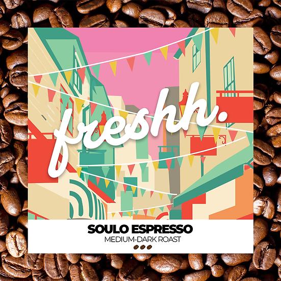 Soulo Espresso (12 oz whole bean)