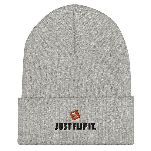 Just Flip It Cuffed Beanie (Grey)