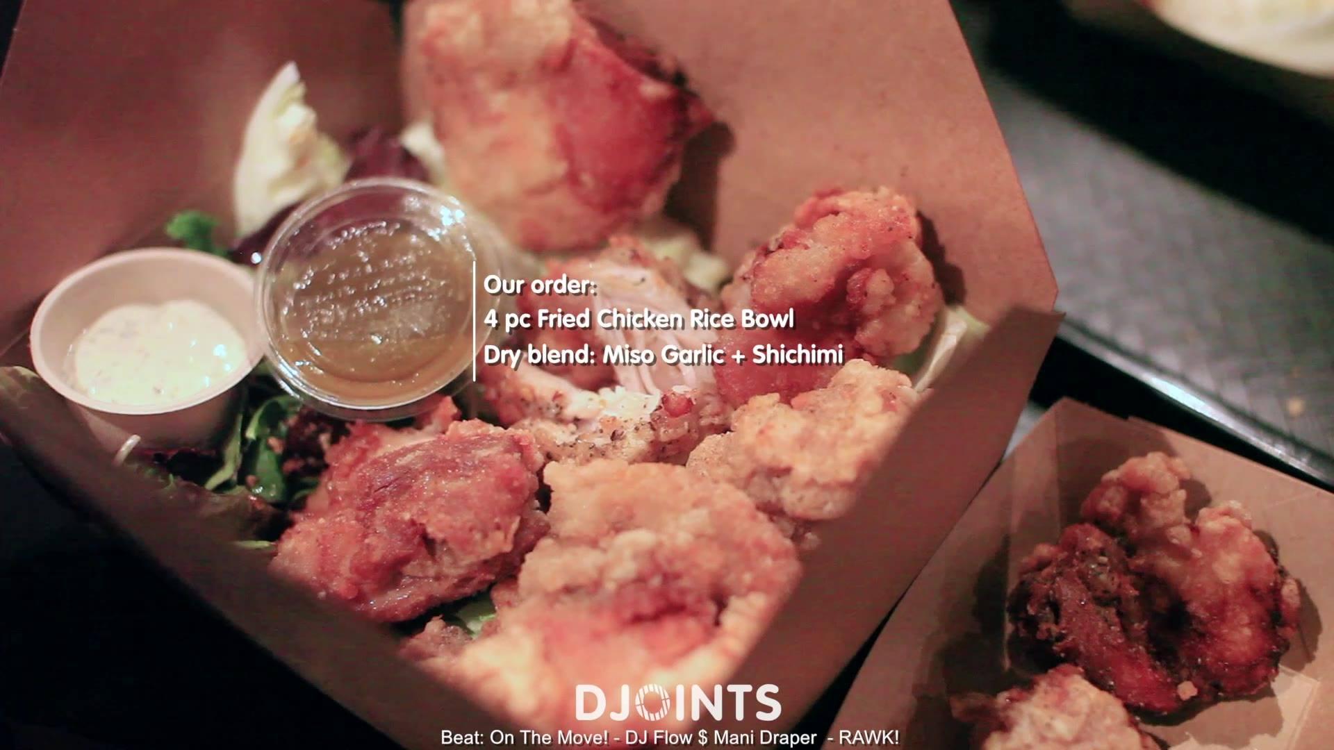 DJOINTS - Aburaya (Oakland,Ca) w/ DJ Onedr