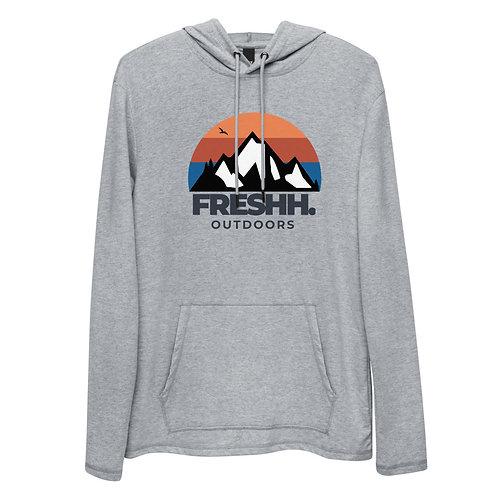 Freshh. Outdoors Lightweight Hoodie (Grey)