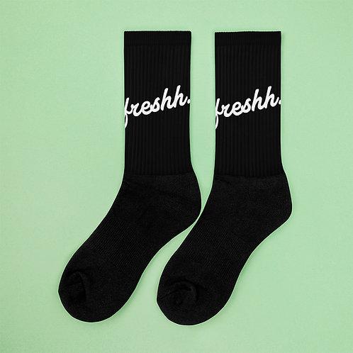 Fresh. Socks