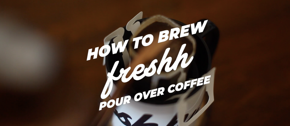 How To Brew Single-Use Pour-Over Packet