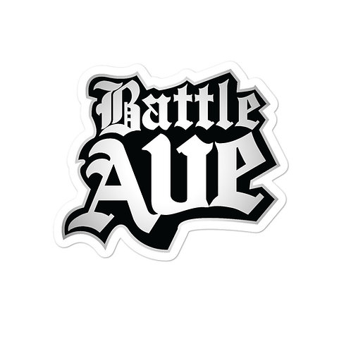 Battle Ave. Sticker