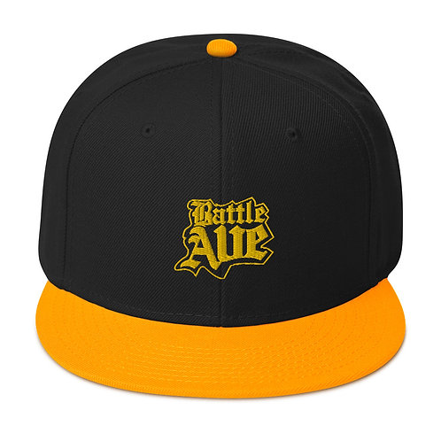 Home Team Series Snapback Hat (Black/Gold)