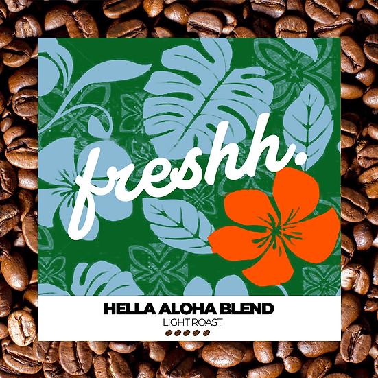 Hella Aloha Light Roast (12 oz whole bean)