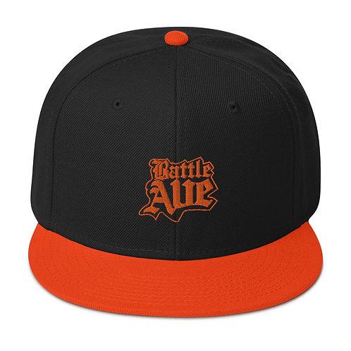 Home Team Series Snapback Hat (Black/Orange)