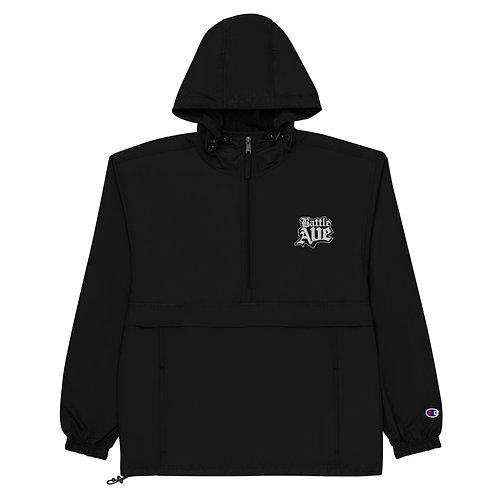 Battle Ave Champion Packable Jacket (Black)