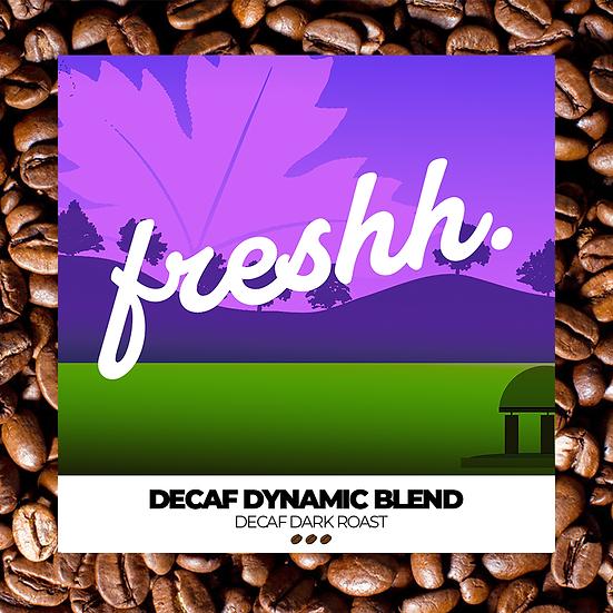 Decaf Dynamic Blend (12 oz whole bean)