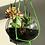 Thumbnail: Triple planter with vase