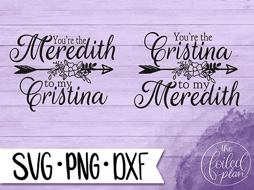 Greys Anatomy Meredith & Cristina