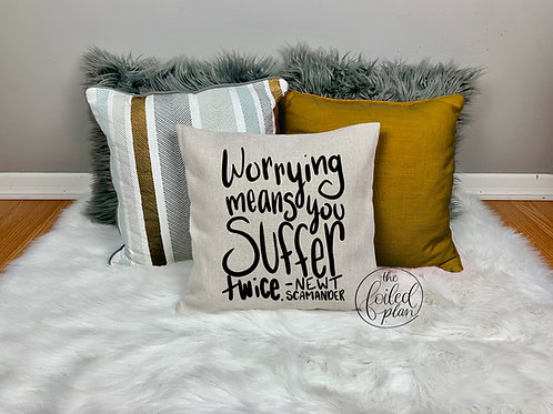 Newt Quote - Pillow Cover