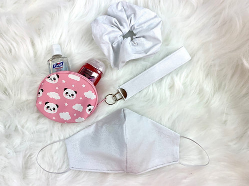 White Paisley Pink Panda Bundle