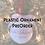 Thumbnail: Plastic Ornament PreOrder